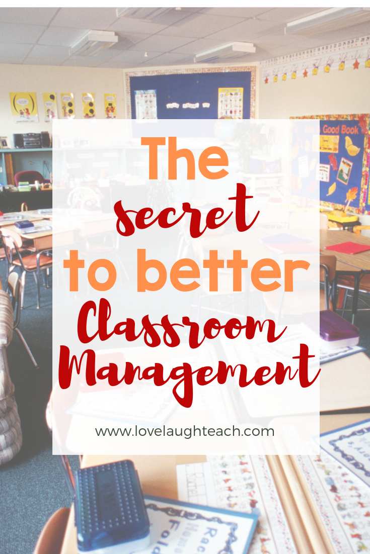 The Secrets to Better Classroom Management