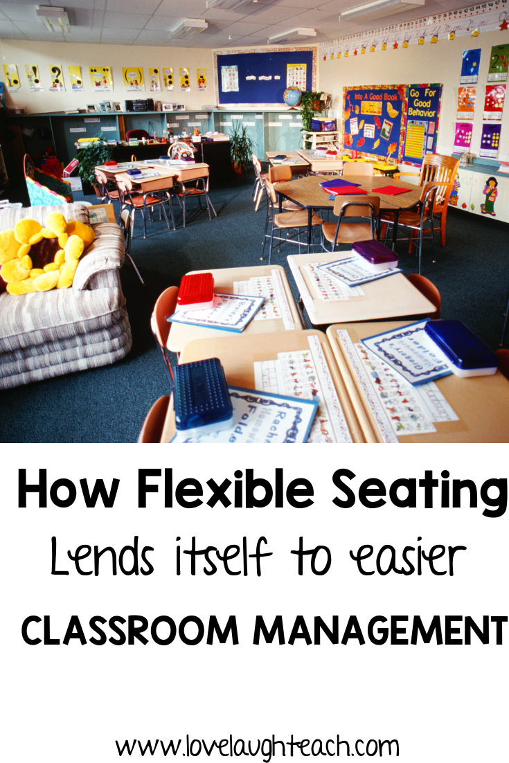 How Flexible Seating Lends Itself to Easier Classroom Management