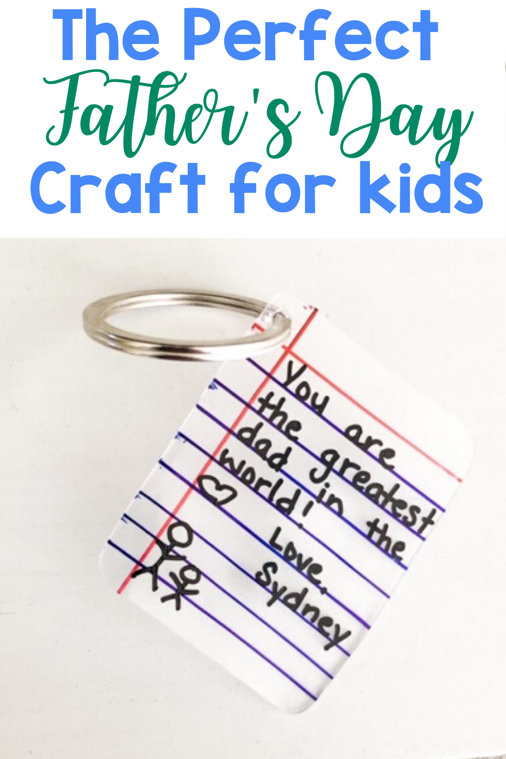 The Perfect Father's Day Craft for Kids