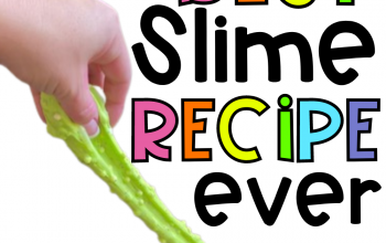 The best slime recipe